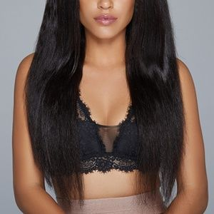 """30"""" Inch Relaxed Straight Virgin Remy Human Hair"""